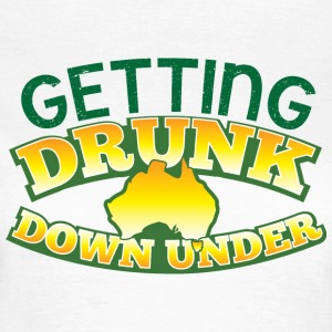 GETTING DRUNK DOWN UNDER T-Shirts - Women's T-Shirt