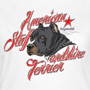 american_staffordshire_terrier_gray T-Shirts - Women's T-Shirt