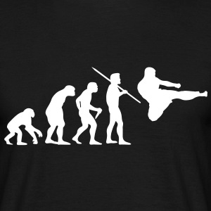 Men's Evolution of Man - Martial Arts T-Shirt - Men's T-Shirt
