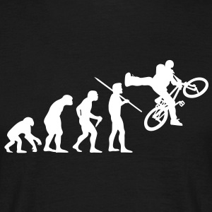 Mens's Evolution of Man - BMX T-Shirt - Men's T-Shirt