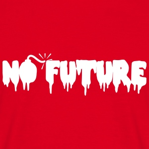 No Future T-shirt - Männer T-Shirt