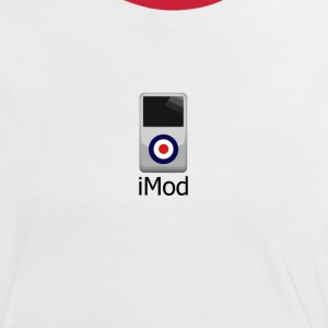 iMod Ladies T-shirt - Women's Ringer T-Shirt
