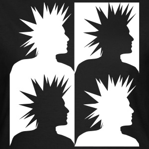 Punk Head T-shirts - Vrouwen T-shirt
