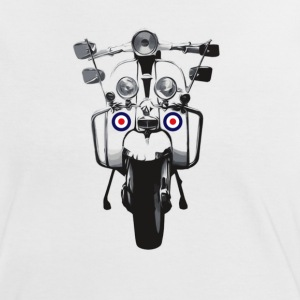 Mod Scooter T-shirts - Vrouwen contrastshirt