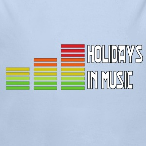 Holidays in music Sweats - Body bébé bio manches longues
