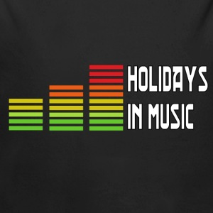 Holidays in music Gensere - Økologisk langermet baby-body