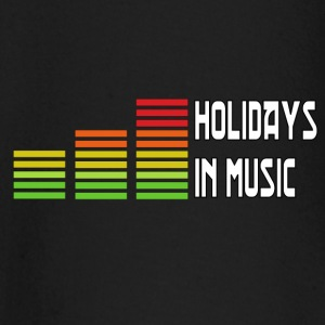 Holidays in music Kinderen & baby's - T-shirt