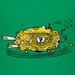 Racing car No. 7 / yellow Shirts - Kids' Premium T-Shirt