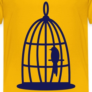Bird in the cage - T-shirt Premium Ado