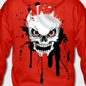 skull splash Hoodies & Sweatshirts - Men's Premium Hooded Jacket