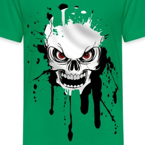 skull splash Shirts - Teenage Premium T-Shirt