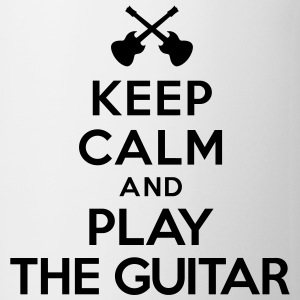 Keep calm and play the guitar Bouteilles et tasses - Tasse