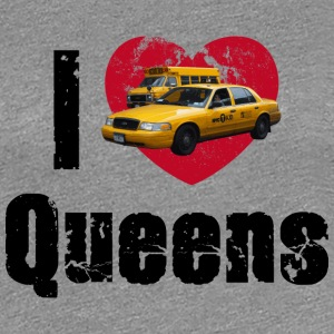 Frauenshirt I love Queens (NYC) - Frauen Premium T-Shirt