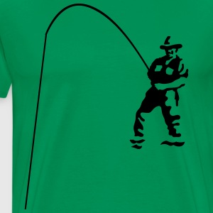 Fisherman T-shirts - Mannen Premium T-shirt