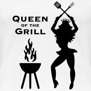Queen Of The Grill (Barbecue) T-Shirts - Women's Premium T-Shirt