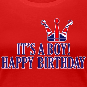 Royal Boy Birthday - Frauen Premium T-Shirt