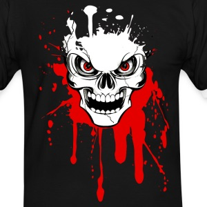 skull splash 02 T-Shirts - Men's Ringer Shirt