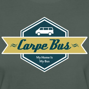 Carpe Bus [Men] - Frauen Bio-T-Shirt