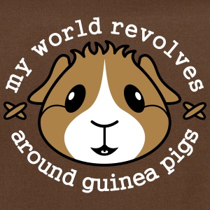 'My World Revolves Around Guinea Pigs' Shoulder Ba - Shoulder Bag
