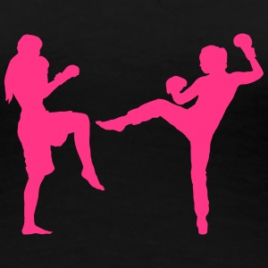 fight_girls T-Shirts - Frauen Premium T-Shirt