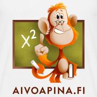 Grafiikka ~ Aivoapina-paita miehelle