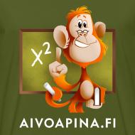 Grafiikka ~ Aivoapina-paita miehelle (eko)