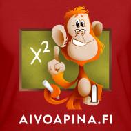Grafiikka ~ Aivoapina-paita naiselle (eko)