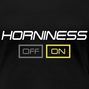horniness T-shirts - Dame premium T-shirt