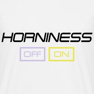 horniness T-shirts - Herre-T-shirt