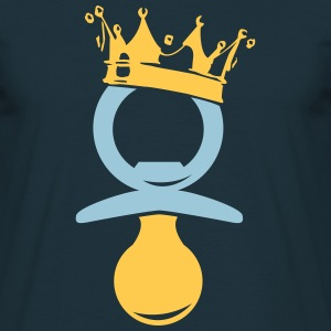 King pacifier  T-Shirts - Men's T-Shirt