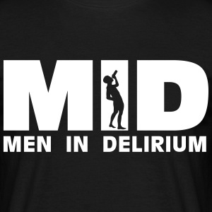 MID Men in Delirium T-shirts - Mannen T-shirt