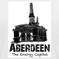 Design ~ Aberdeen - the Energy Capital Men's Baseball T-Shirt