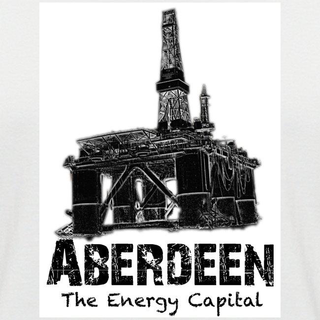 Aberdeen - the Energy Capital Men's Baseball T-Shirt