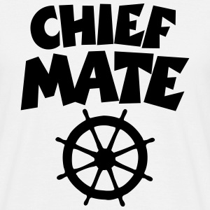Chief Mate Wheel T-Shirts - Men's T-Shirt
