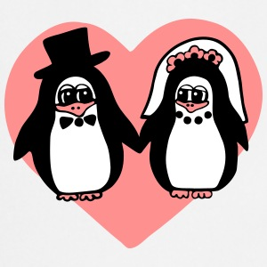 penguin wedding  Aprons - Cooking Apron