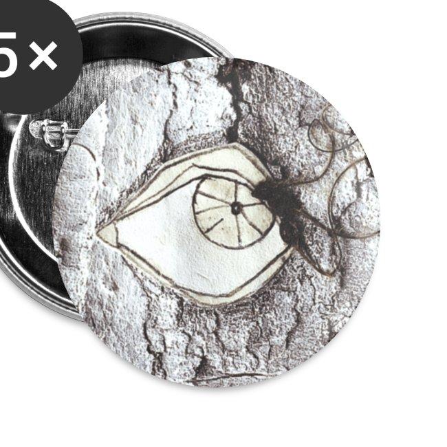 button eye