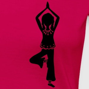 Yoga Girl, Tree, asana, yoga teachers, meditation Camisetas - Camiseta premium mujer