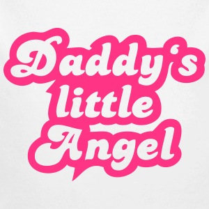 Daddy's little angel Sweaters - Baby bio-rompertje met lange mouwen