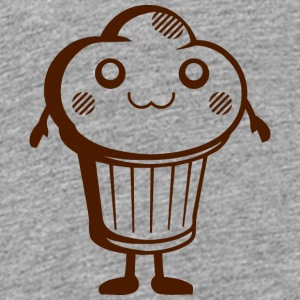 DS Kawaii Designs: süßer Muffin Skjorter - Premium T-skjorte for barn