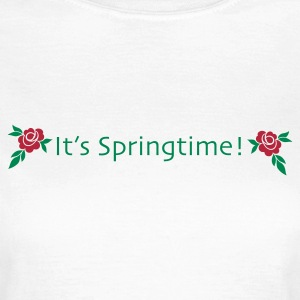 Its springtime - Frauen T-Shirt
