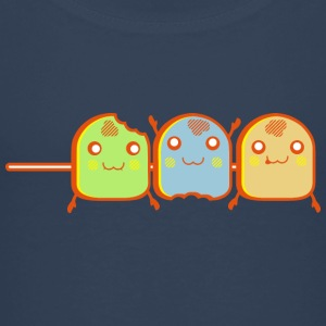 DS Kawaii Designs: Marshmallow-Spieß T-shirts - Børne premium T-shirt