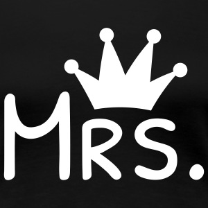 miss crown miss krone T-shirts - Dame premium T-shirt