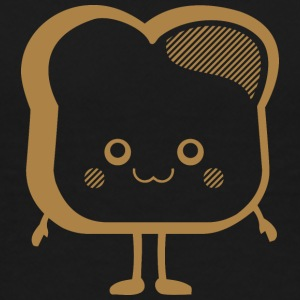 DS Kawaii Designs: Toastscheibe Skjorter - Premium T-skjorte for barn