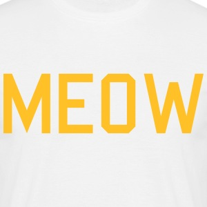 meow Tee shirts - T-shirt Homme