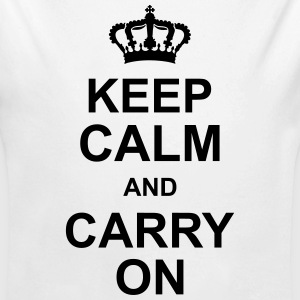 keep_calm_and_carry_on_g1 Hoodies - Longlseeve Baby Bodysuit