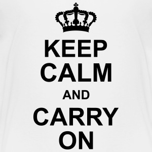 keep_calm_and_carry_on_g1 Shirts - Teenage Premium T-Shirt