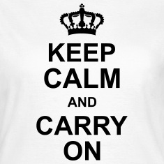keep_calm_and_carry_on_g1 Tee shirts