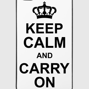 keep_calm_and_carry_on_g1 Hoesjes voor mobiele telefoons & tablets - iPhone 4/4s hard case