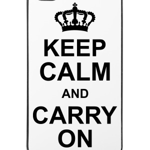 keep_calm_and_carry_on_g1 Coques pour portable et tablette - Coque rigide iPhone 4/4s