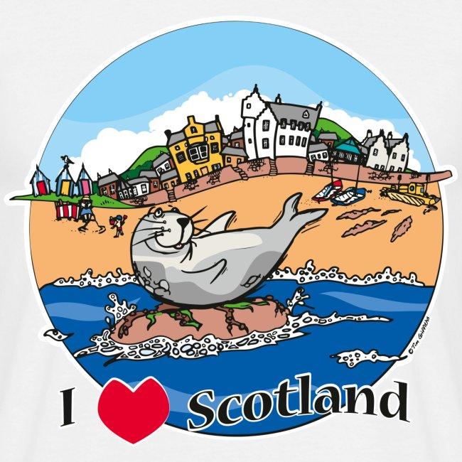 I love Scotland (White)